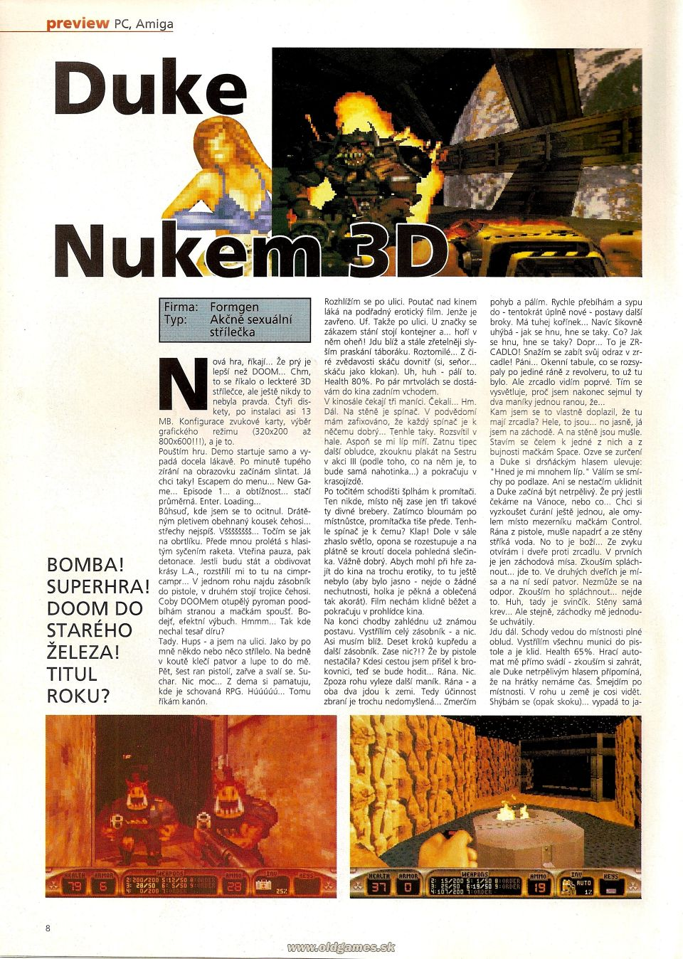 Duke Nukem 3D - Preview