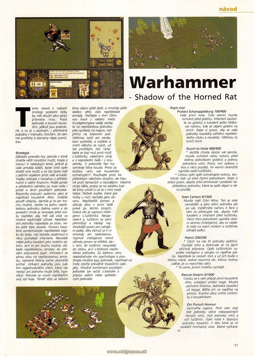 Warhammer: Shadow of the Horned Rat - Návod