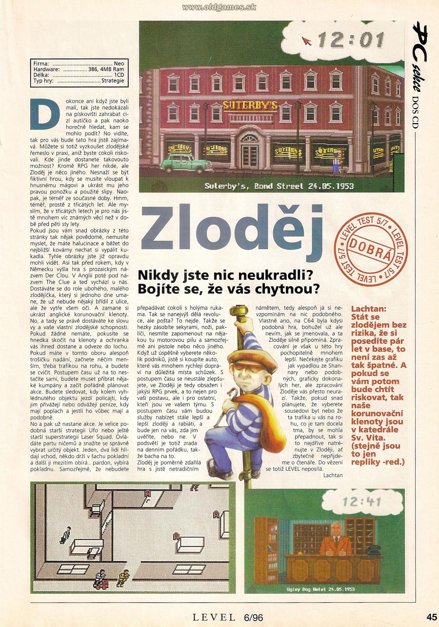 Zloděj (The Clue!)