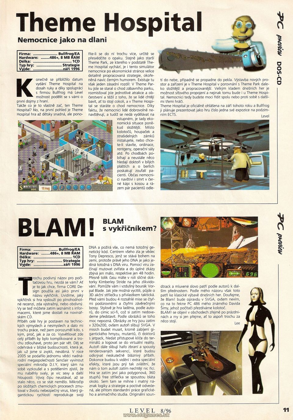 Preview: Theme Hospital, Blam!