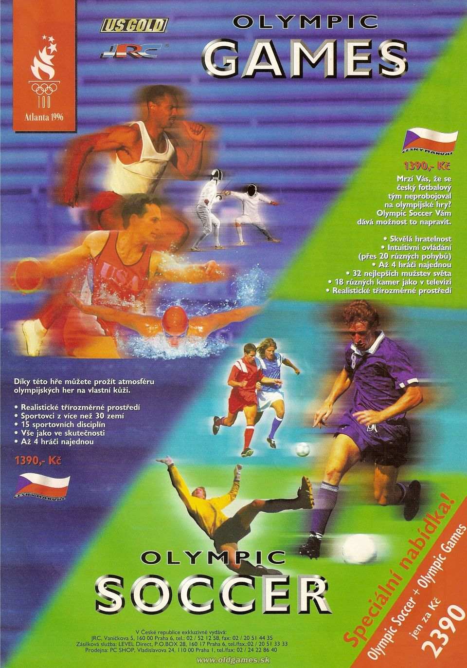 reklama - Olympic Games, Olympic Soccer