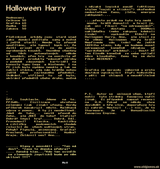 Halloween Harry