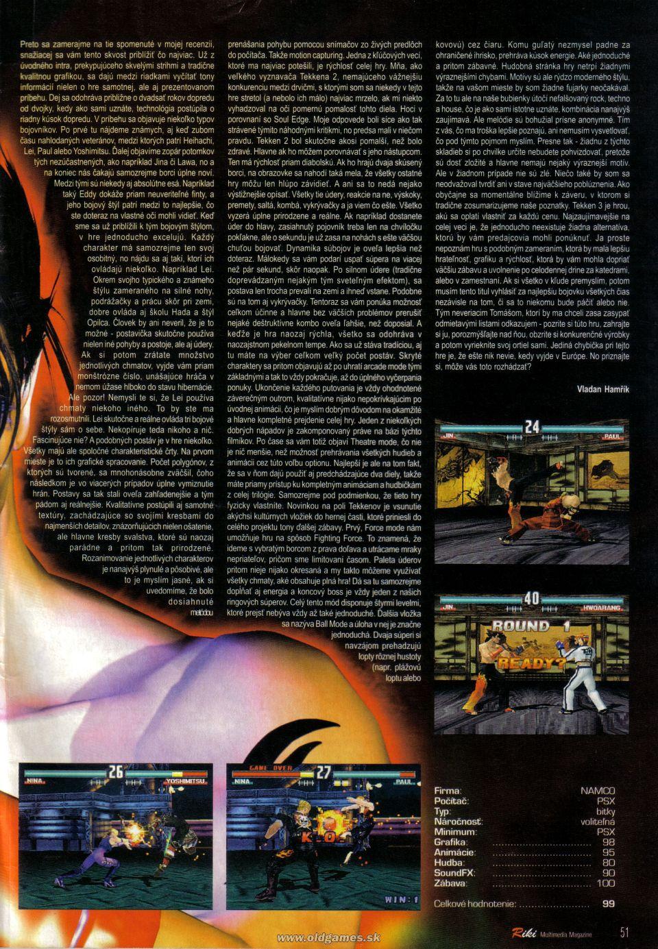 Tekken 3 :: Riki 32 page 32
