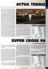Actula Tennis, Super Cross 98