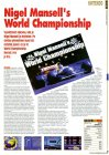 Nigel Mansells World Championship, SNES