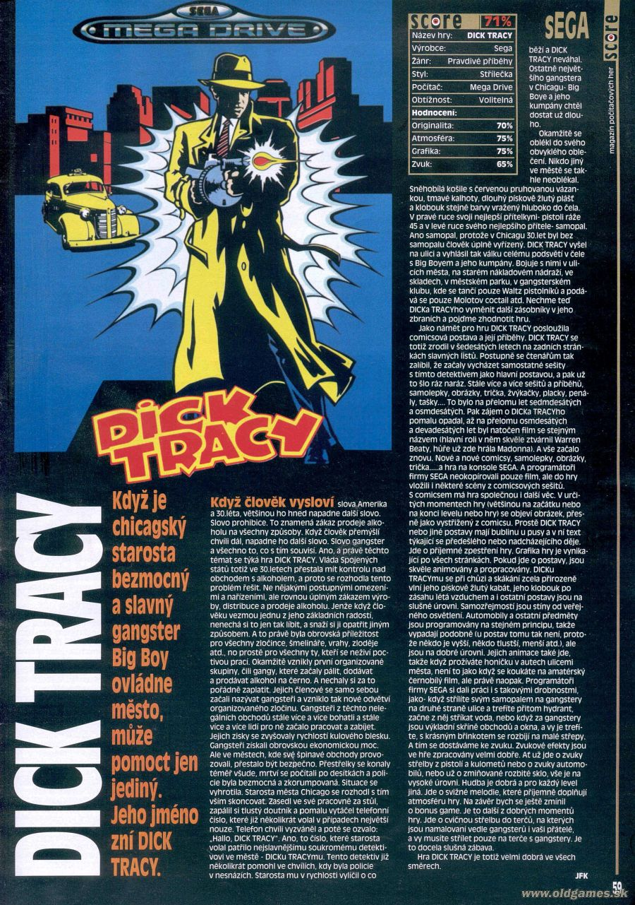Dick tracy sega — photo 15