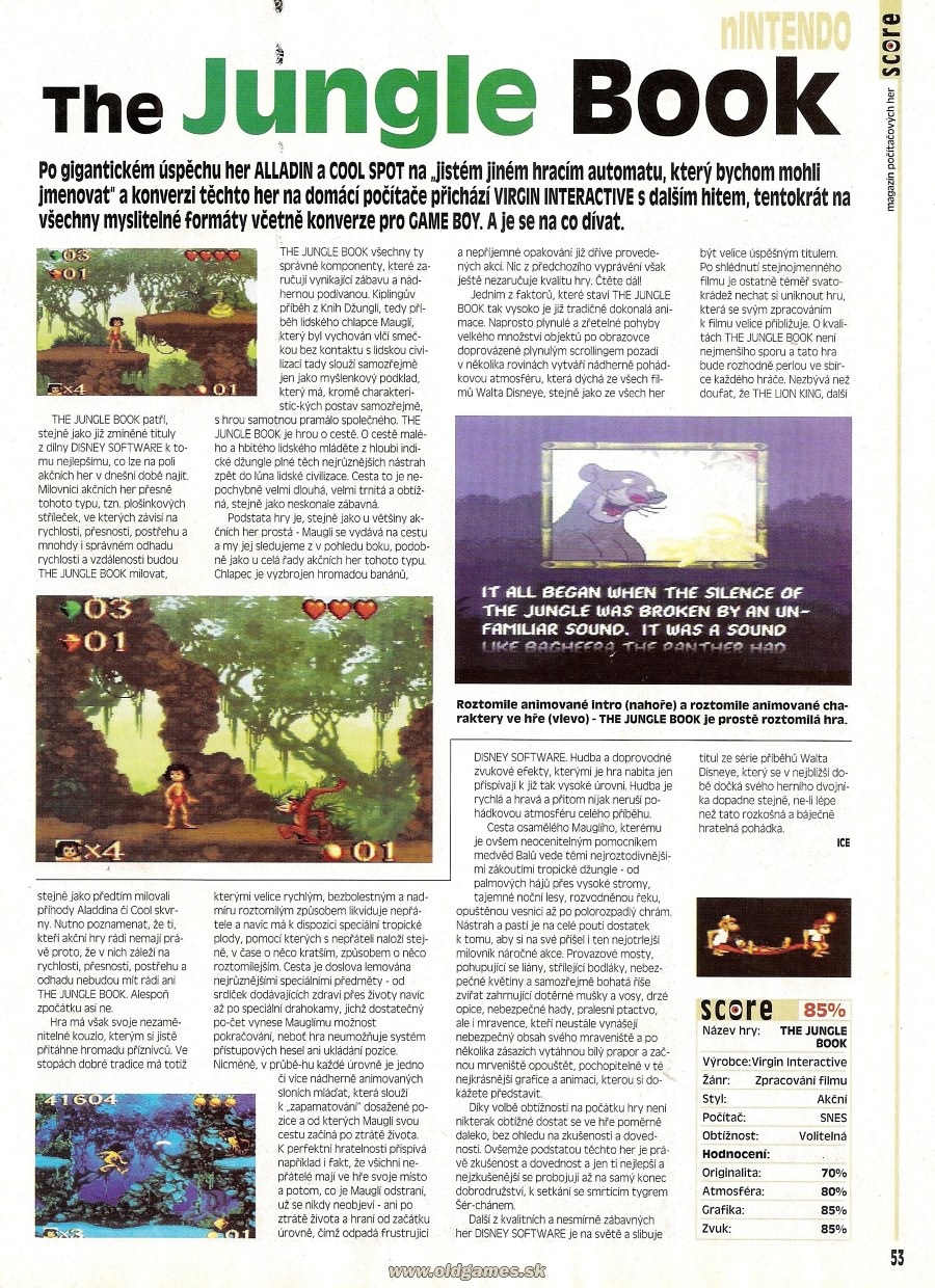 Jungle Book (SNES)