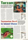 Tarzan, Tazmanian Devil  in Island Chase (Game Boy)