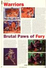Wariors, Brutal Paws of Fury (Preview)