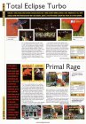 Total Eclipse Turbo, Primal Rage (PSX)
