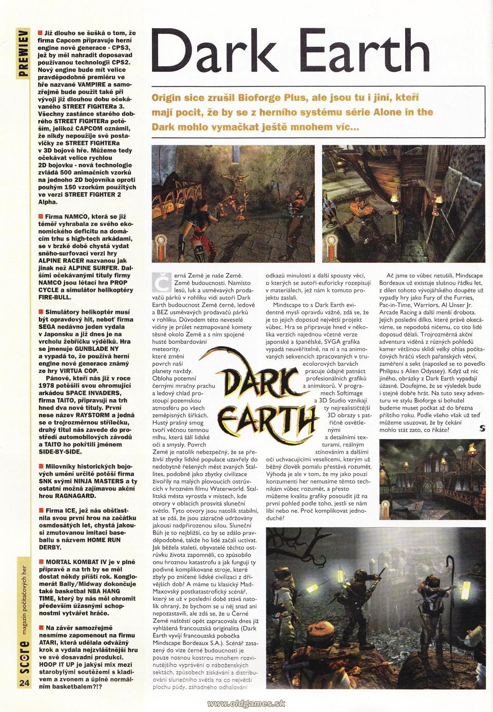 Preview: Dark Earth