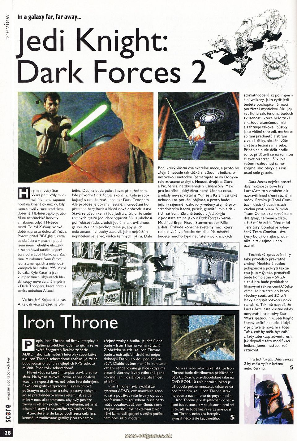Preview: Jedi Knight: Dark Forces 2