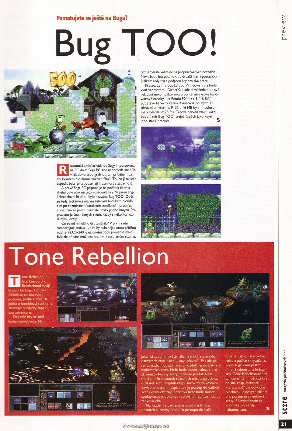 Preview: Bug TOO!, Tone Rebelion