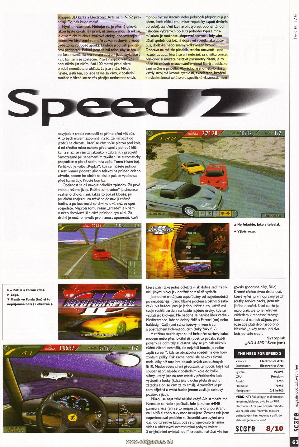 The Need for Speed 2