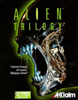 Alien Trilogy - Box scan - Front