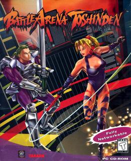 Battle Arena Toshinden (Front)