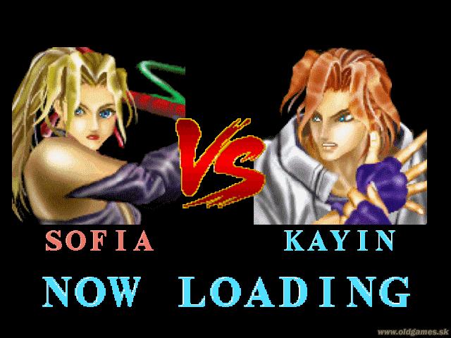Sofia vs. Kayin, Loading Screen