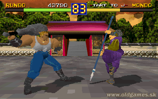 Battle Arena Toshinden - Rungo vs. Mondo