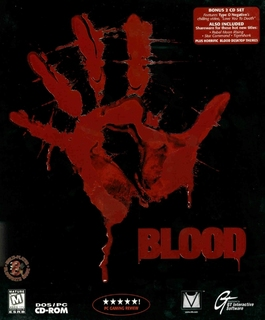 Blood (US Release) - Box scan - Front