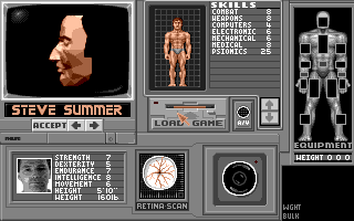PC DOS, Character - Steve Summer