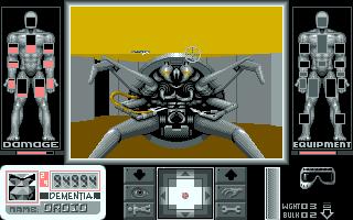 PC DOS, Robo-spider detail