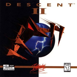 Descent 2 - CD Box scan - Front