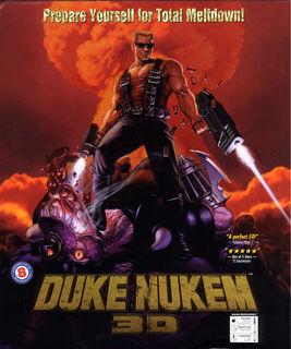 Duke Nukem 3D - Box scan - Front