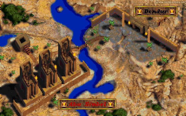 Map, Abu Simbel selected