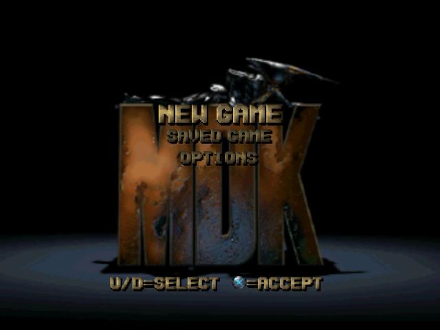 PSX, Main menu