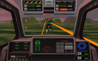 Metaltech: Earthsiege -  PC DOS, First Contact