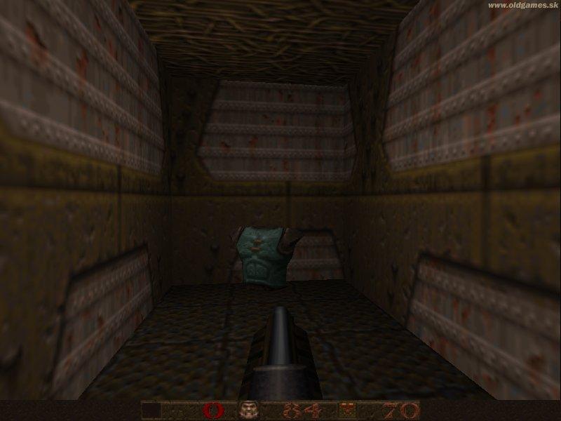 GL Quake, Secret - Armor found