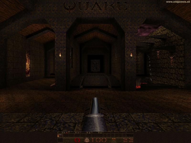 Quake, Level 1(DOS 800x600)