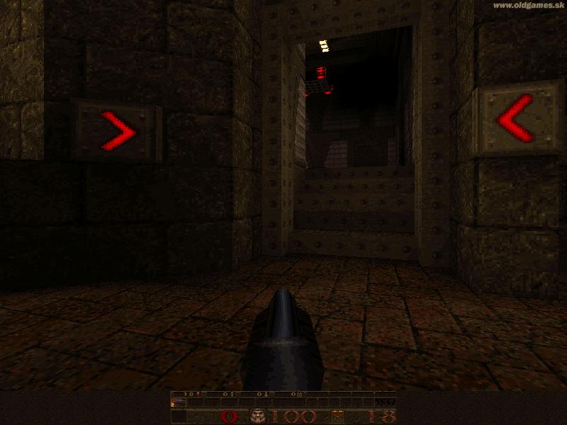 Quake, Gameplay (DOS 800x600)