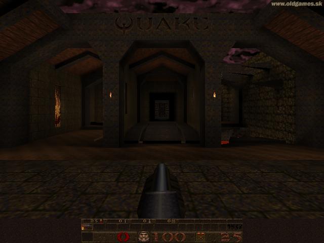 GLQuake, Level 1(Windows XP 640x480)