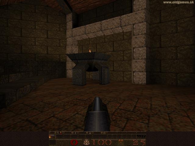 GLQuake, Gameplay (Windows XP 640x480)