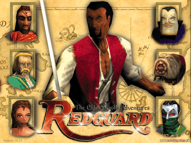 Скачать бесплатно The Elder Scrolls Adventures Redguard (1998/RUS