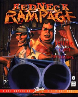 Redneck Rampage - Box scan - Front