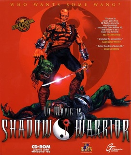 Shadow Warrior - Box scan - Front