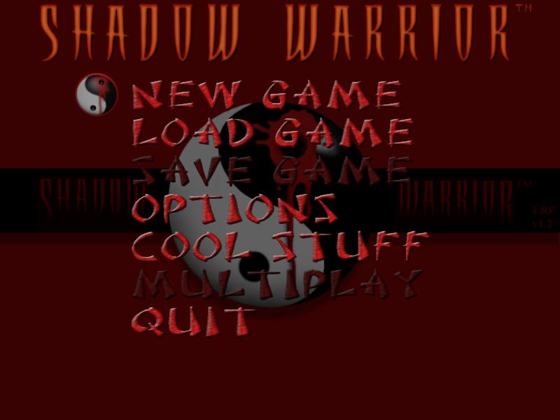 SWP (Windows) - LRP, Main menu