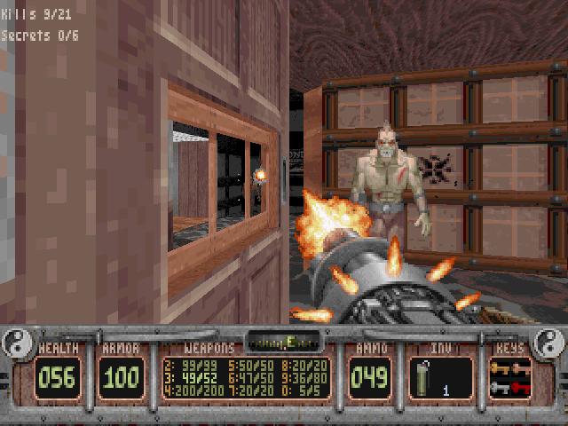 PC, Quad Barrel Riot Shotgun