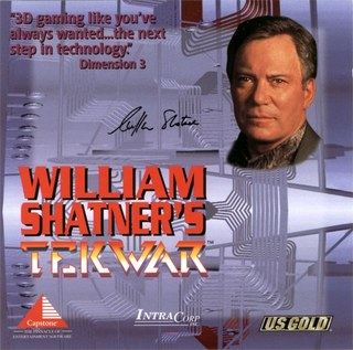 TekWar - CD Cover - Front