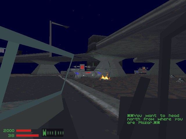 Jeep - enemy tank approaching