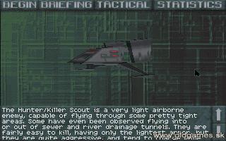 Object info - Hunter/Killer Scout