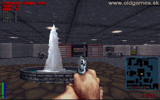 Cyberdyne building - Fountain