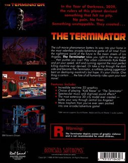 Terminator - Box scan - Back