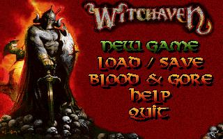 Main menu (VGA)