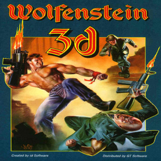 Wolfenstein 3D - Box scan - Front