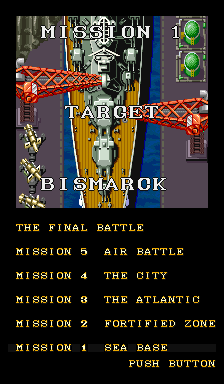 Mission 1, target: Bismarck