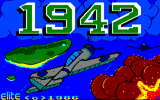 Play online 1942 for Amstrad CPC