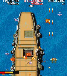 1943: The Battle of Midway - Arcade, Title